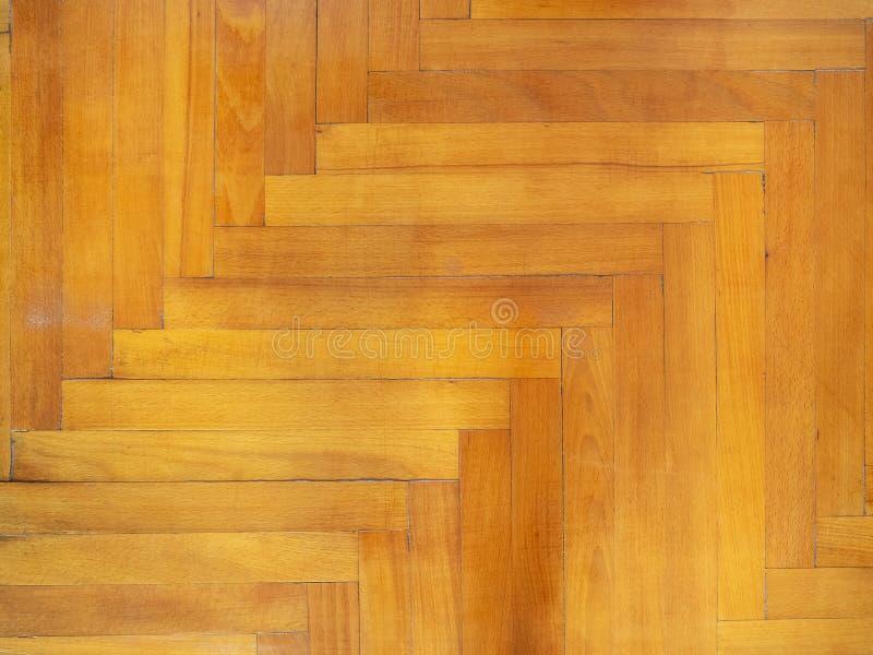 Oud parket van eiken hout royalty-vrije stock fotografie