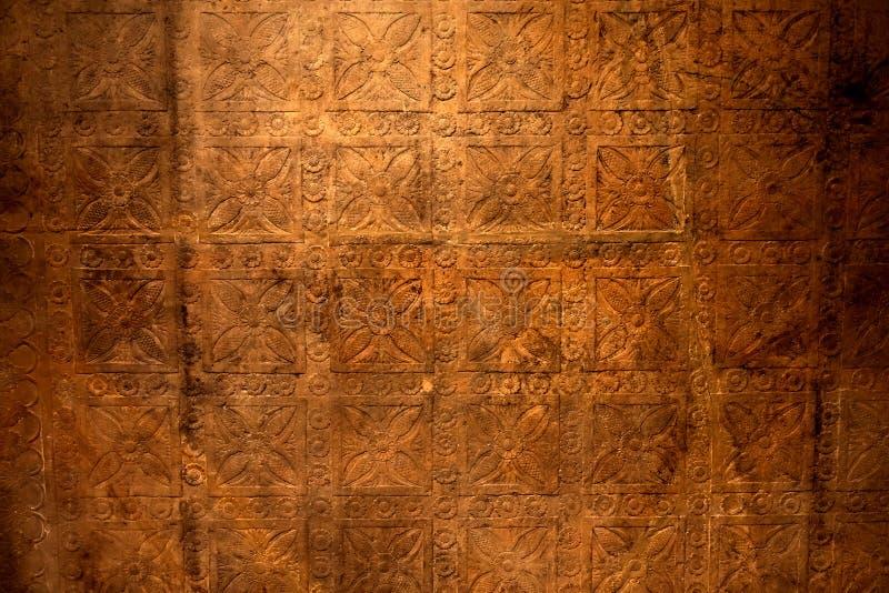 Oud patroon royalty-vrije stock afbeelding