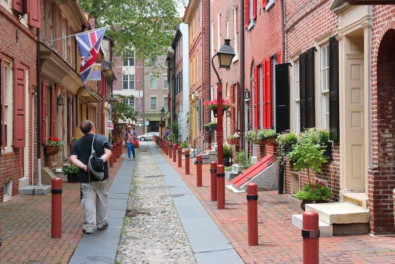 Oud Philadelphia royalty-vrije stock afbeelding