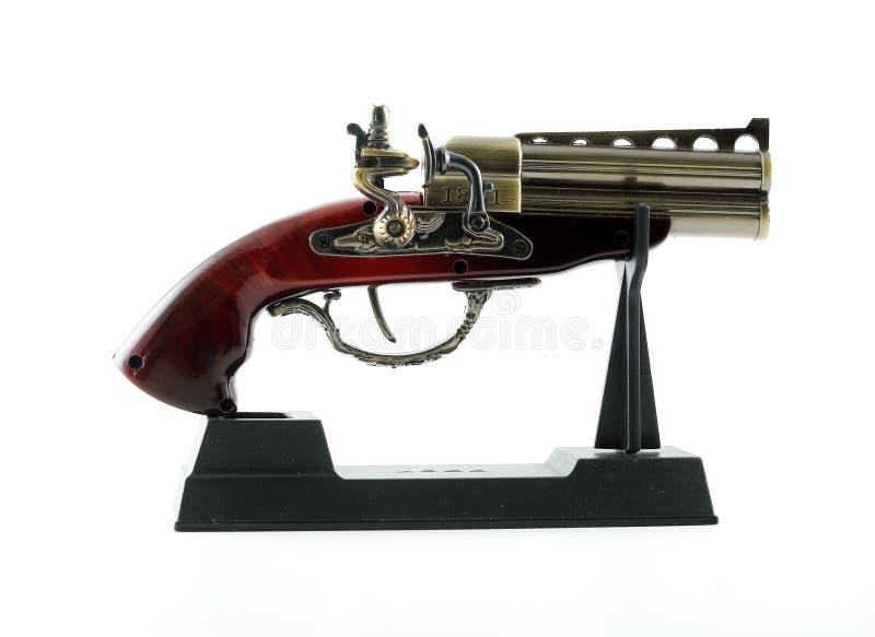 Oud pistool royalty-vrije stock fotografie