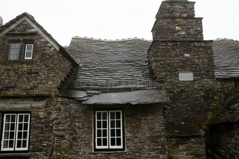 Oud Postkantoor - Tintagel - Engeland stock fotografie