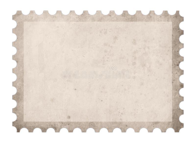 Oud poststempelframe royalty-vrije illustratie