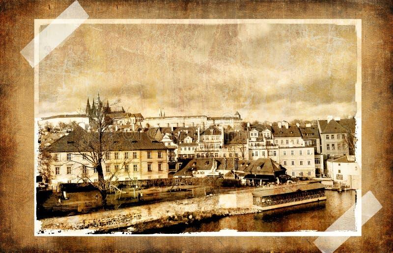 Oud Praag stock afbeeldingen