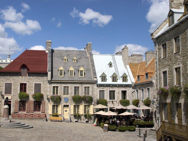 Oud Quebec stock foto