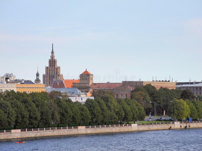 Oud Riga royalty-vrije stock foto's