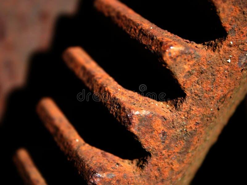 Oud roestig toestel. Detail II stock fotografie