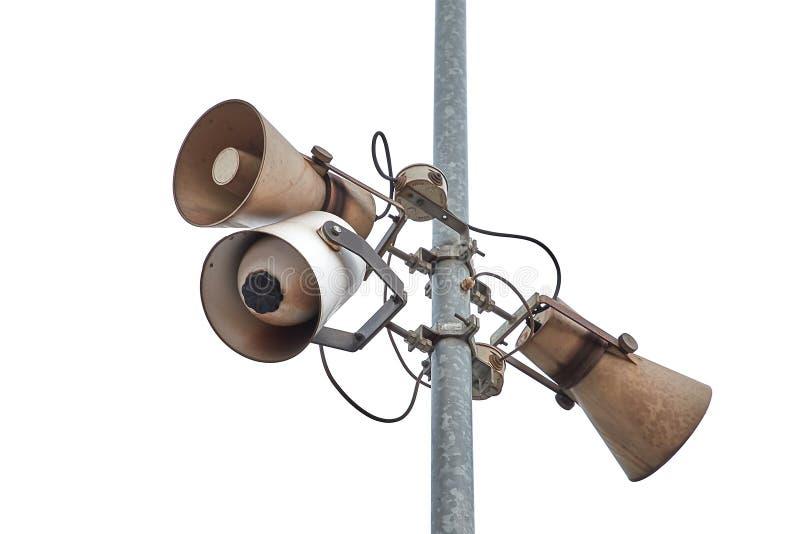 Download Oud Rusty Speakers stock afbeelding. Afbeelding bestaande uit bederf - 107707163