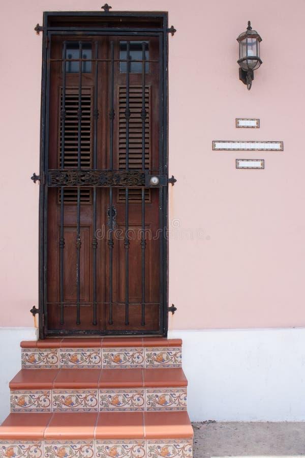 Oud San Juan stock afbeelding