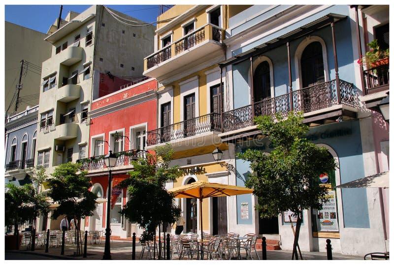 Oud San Juan stock foto's