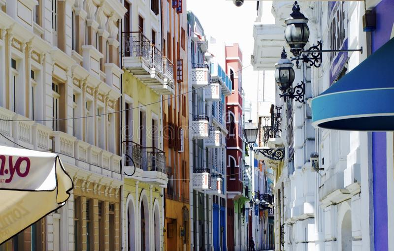 Oud San Juan Puerto Rico stock fotografie