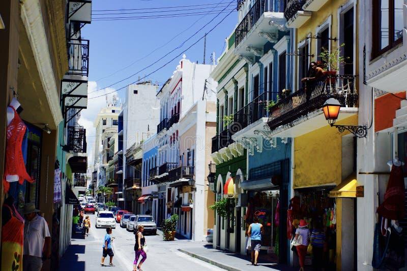 Oud San Juan Puerto Rico royalty-vrije stock fotografie