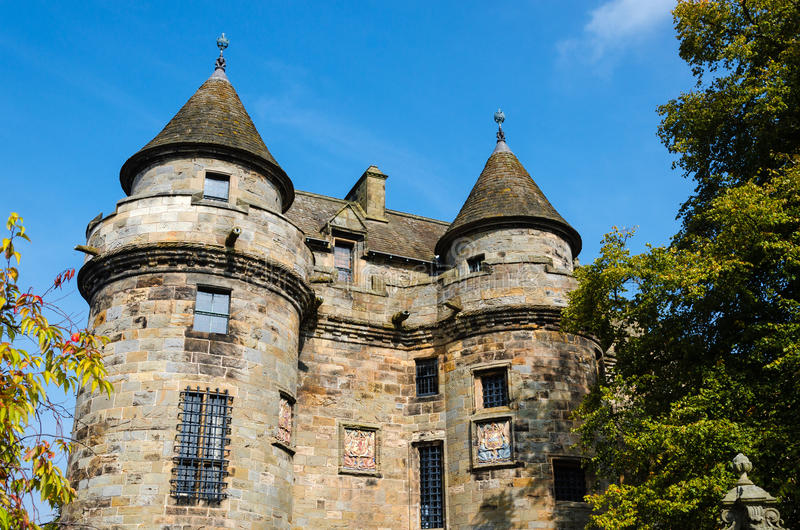 Oud Schots paleis stock fotografie