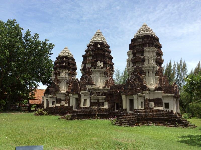 Oud Siam in BANGKOK royalty-vrije stock fotografie