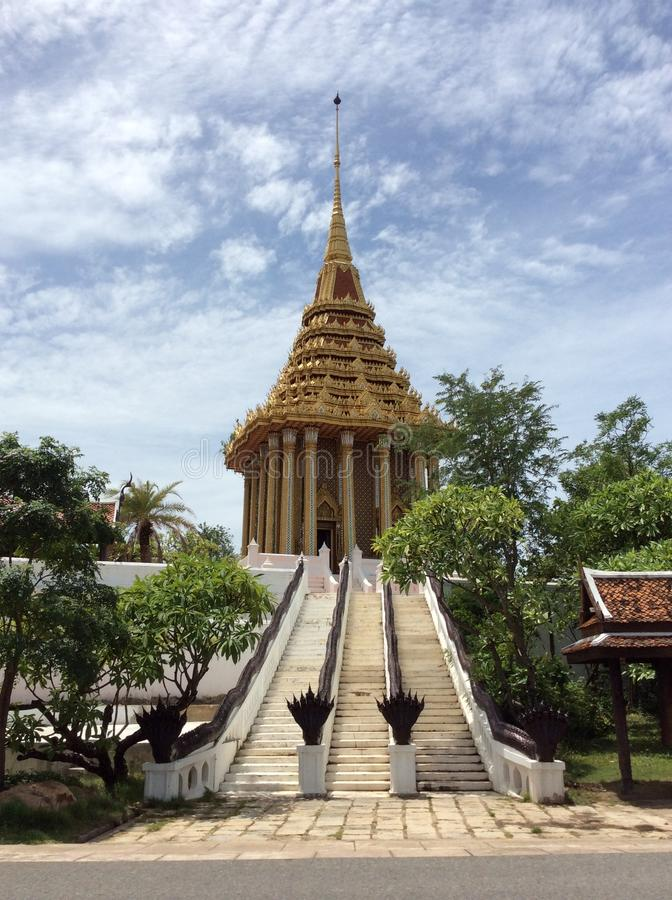 Oud Siam in BANGKOK royalty-vrije stock afbeelding