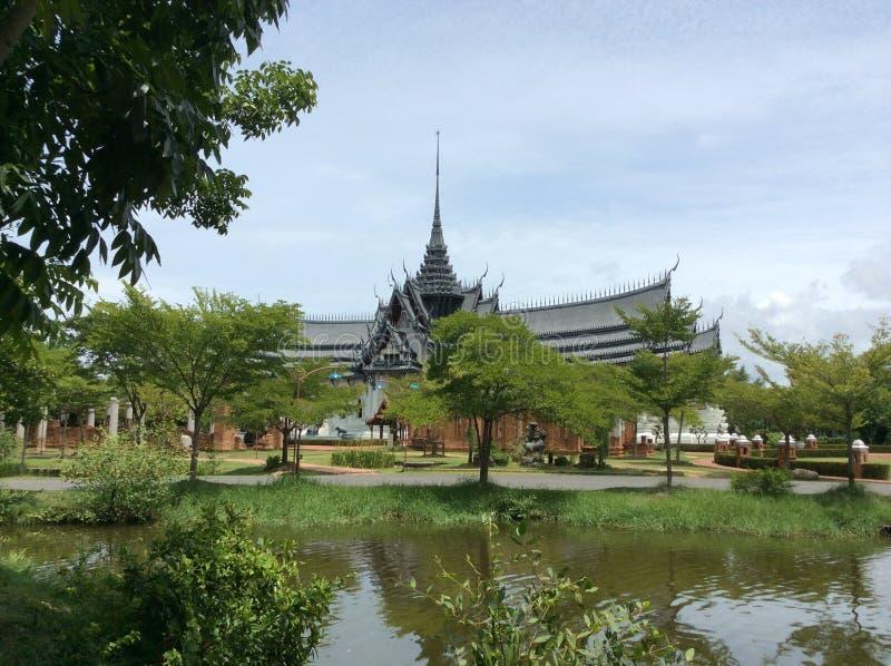 Oud Siam in BANGKOK stock afbeeldingen