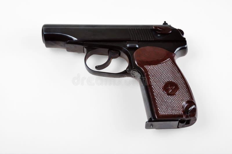 Oud Sovjet (Russisch) pistool royalty-vrije stock fotografie