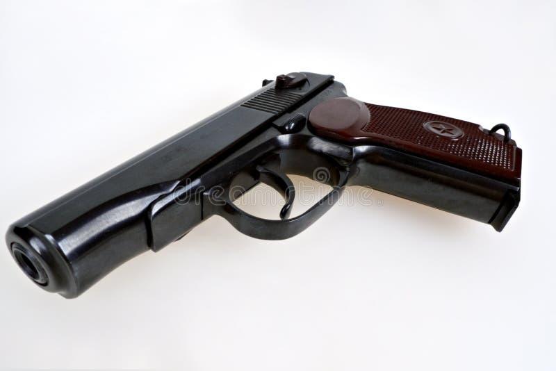 Oud Sovjet (Russisch) pistool #2 stock foto