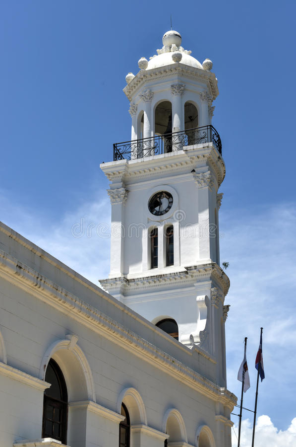 Oud Stadhuis, Santo Domingo, Dominicaanse Republiek royalty-vrije stock fotografie