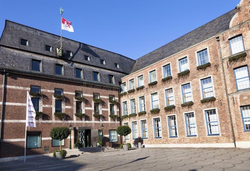 Oud Stadhuis van Dusseldorf royalty-vrije stock fotografie