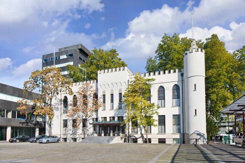 Oud stadhuis van Tilburg, Nederland stock fotografie