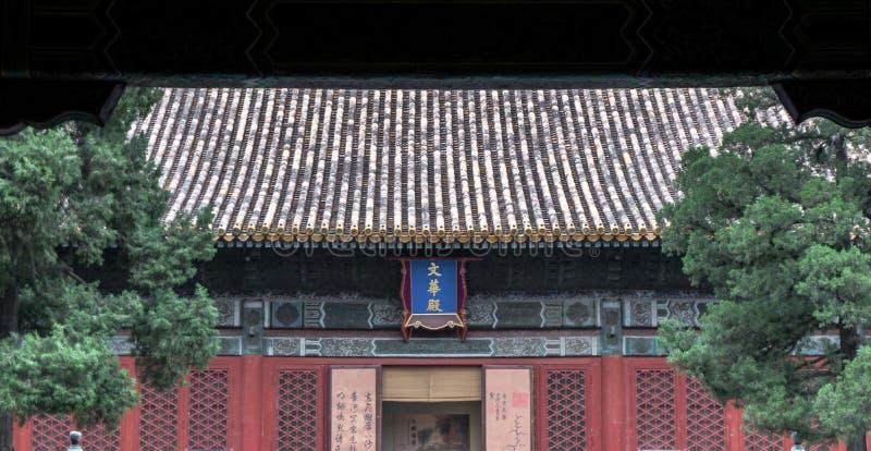 Oud stadslandschap, met architecturale structuur en oude cultuur royalty-vrije stock foto's