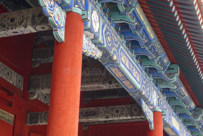Oud stadslandschap, met architecturale structuur en oude cultuur royalty-vrije stock foto