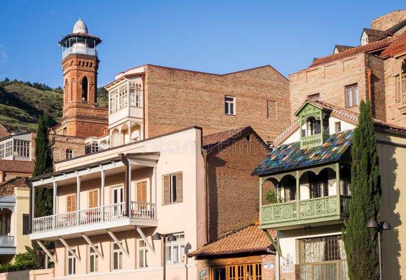 Oud Tbilisi stock foto's