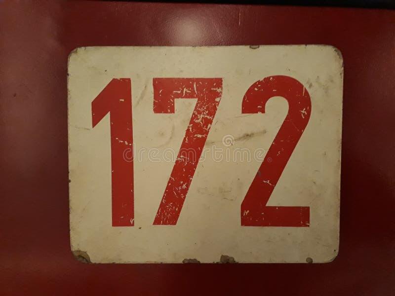 Oud teken 172 stock fotografie