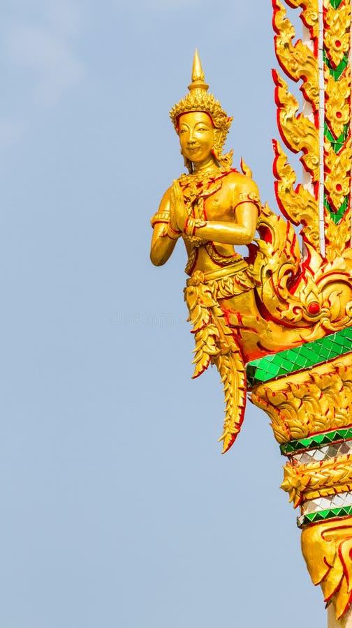 Oud Thais stijl het snijden art. stock foto