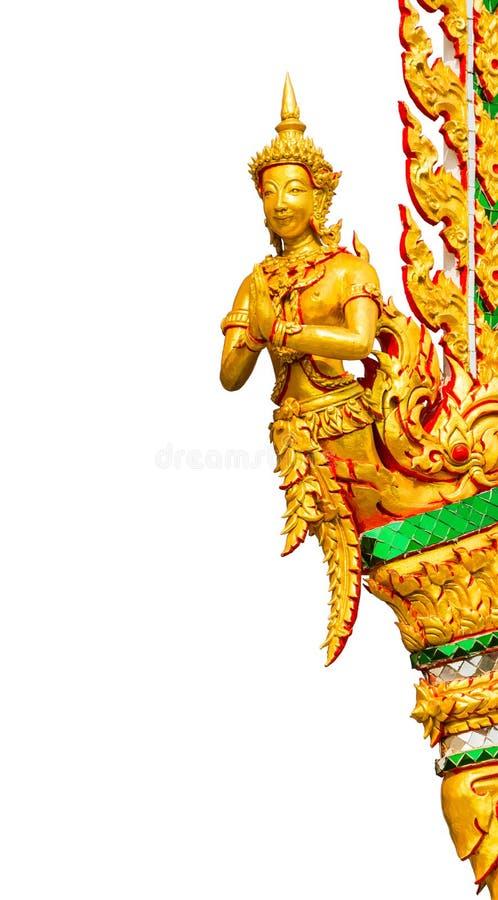 Oud Thais stijl het snijden art. stock afbeeldingen