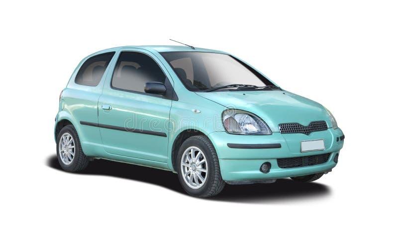 Oud Toyota Yaris stock afbeelding