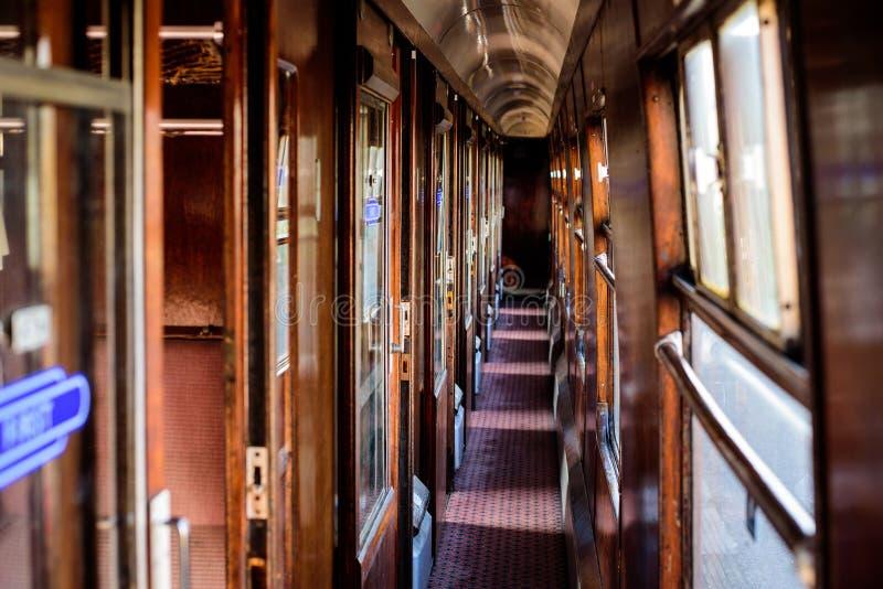 Oud treinvervoer royalty-vrije stock foto