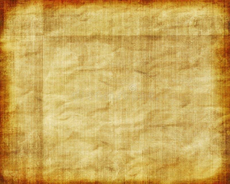 Oud Uitstekend Document royalty-vrije illustratie