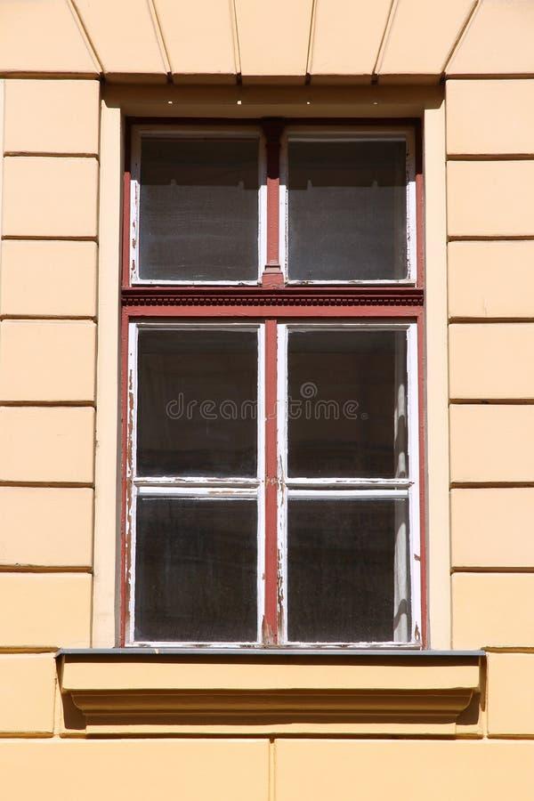 Oud venster in Hongarije royalty-vrije stock afbeeldingen
