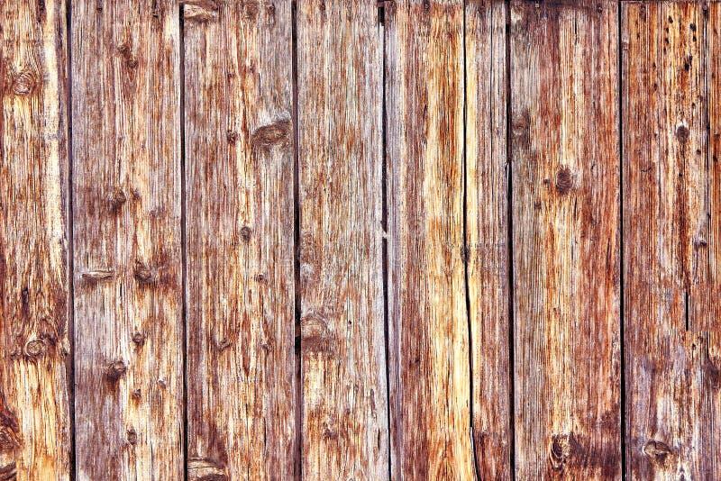 Oud Verontrust Bruin Terracottakoper Rusty Wooden Background met Ruwe Textuur Multicolored Opneming bevlekt stock fotografie