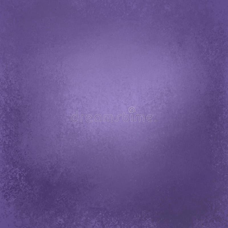 Oud verontrust ontwerp als achtergrond met grungetextuur en grens in kleur van jaar 2018 ultraviolette pantone stock fotografie