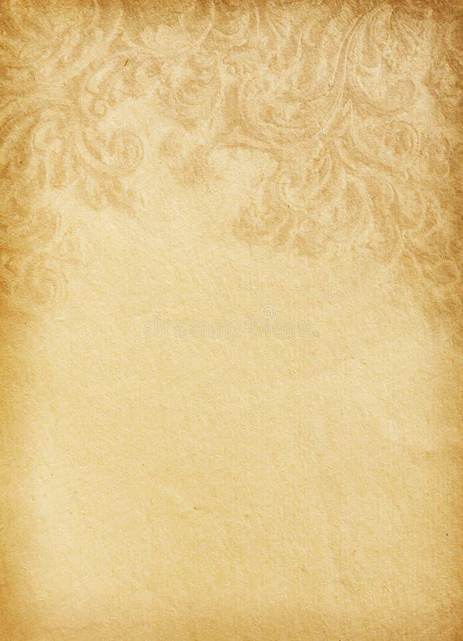 Oud versleten document royalty-vrije stock fotografie
