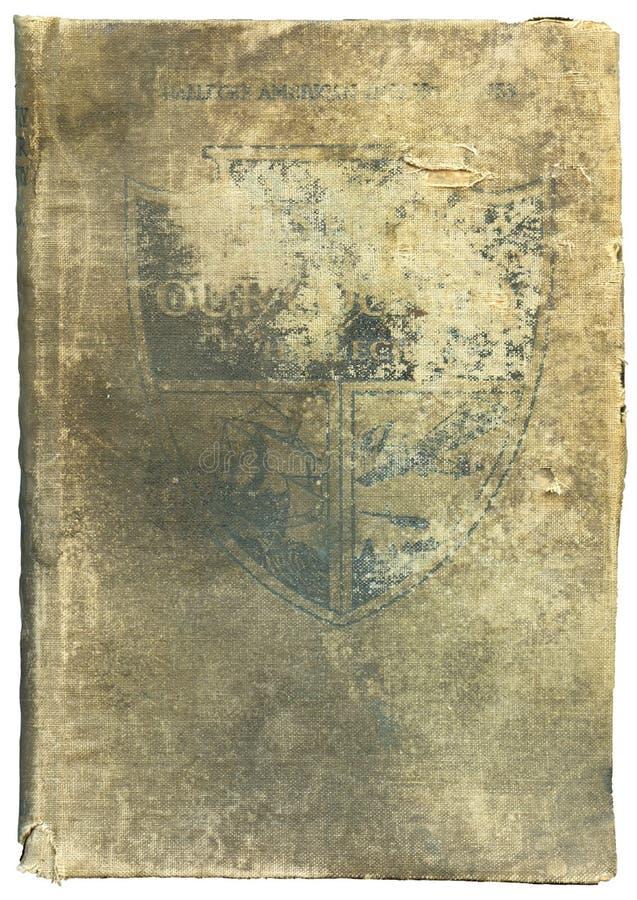 Oud versleten en gescheurd boek royalty-vrije stock afbeeldingen