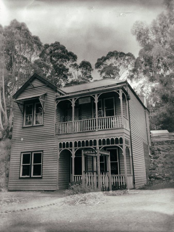 Oud Victoriaans huis royalty-vrije stock foto