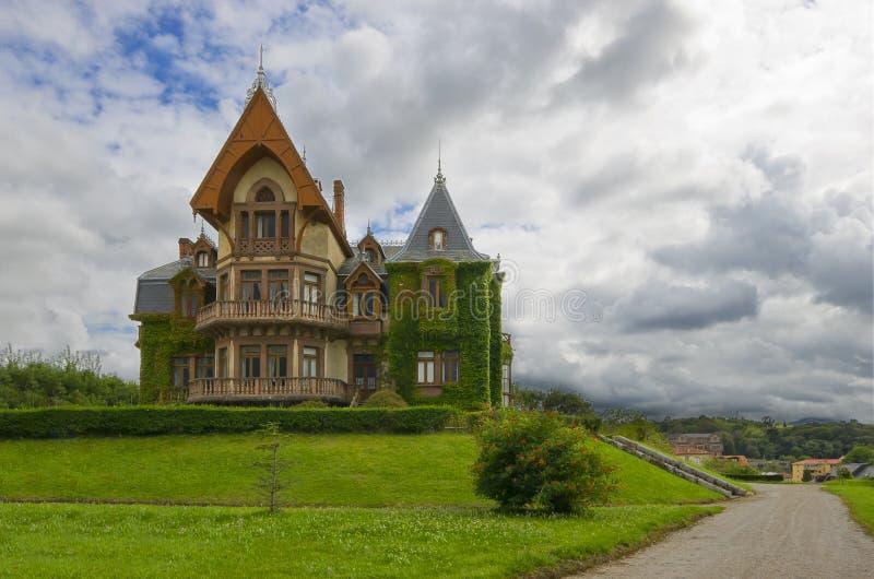 Oud victorian huis stock fotografie