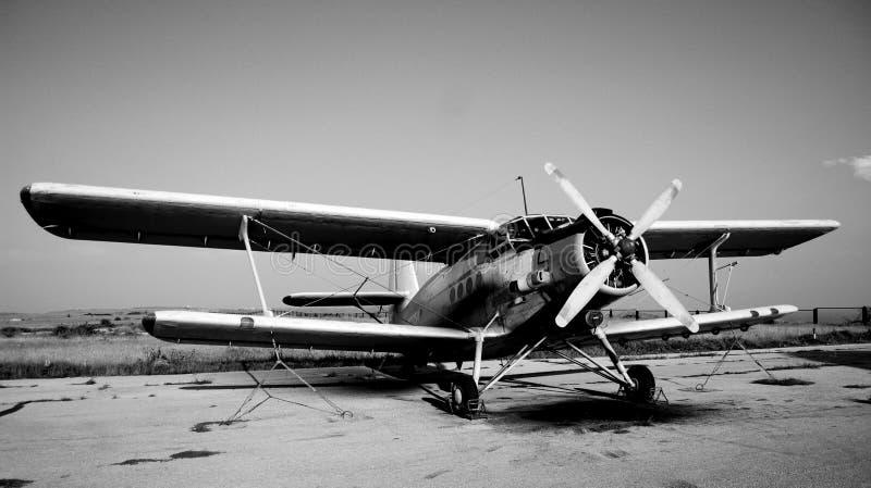 Oud Vliegtuig stock foto's