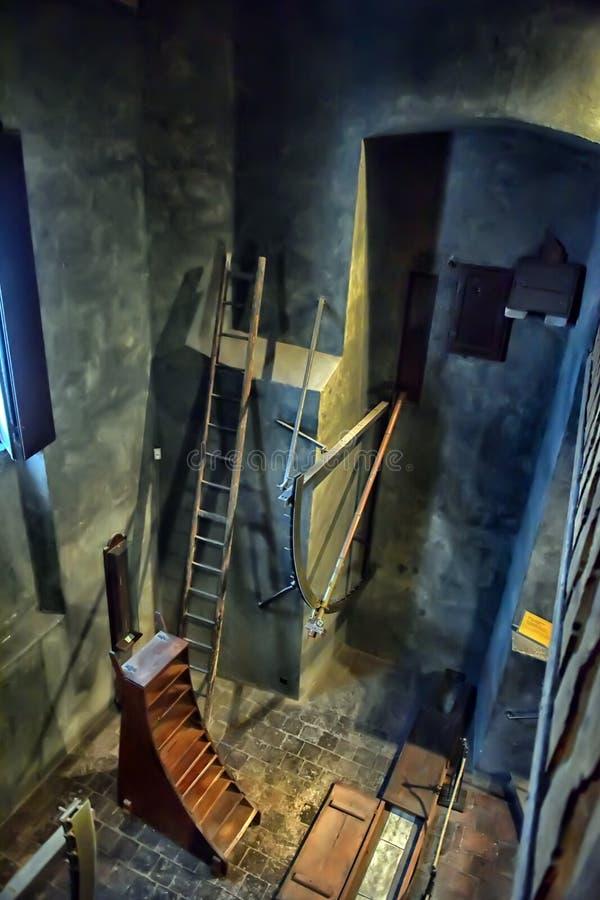Oud waarnemingscentrum stock afbeelding