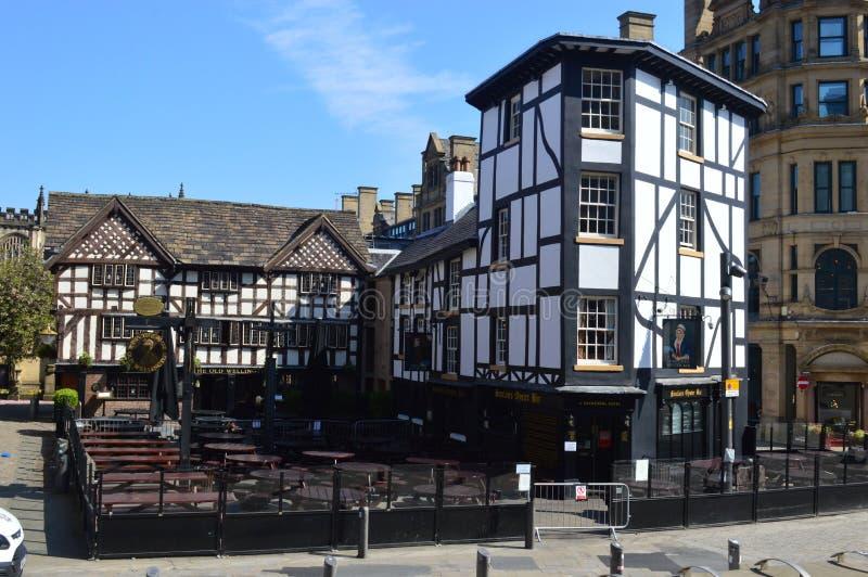 Oud Wellington Inn Manchester stock fotografie
