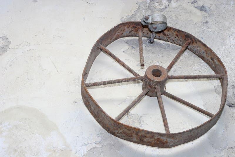 Oud wiel stock foto's