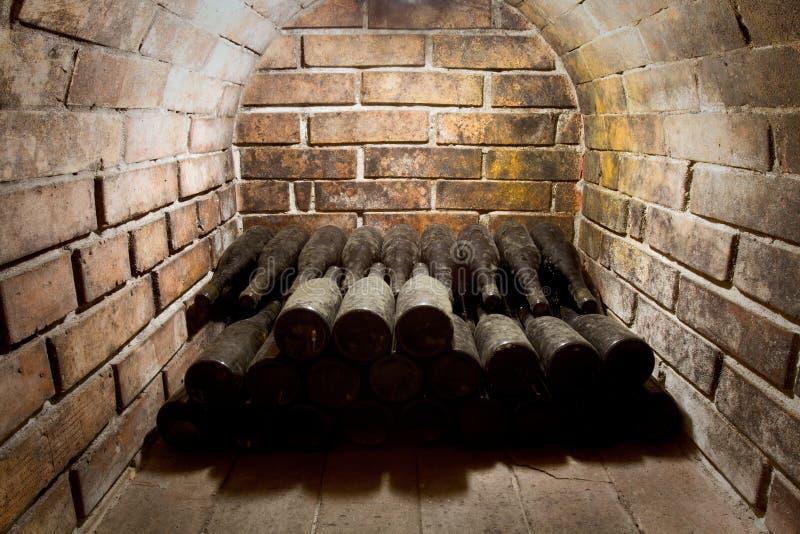 Oud wijnglas stock fotografie