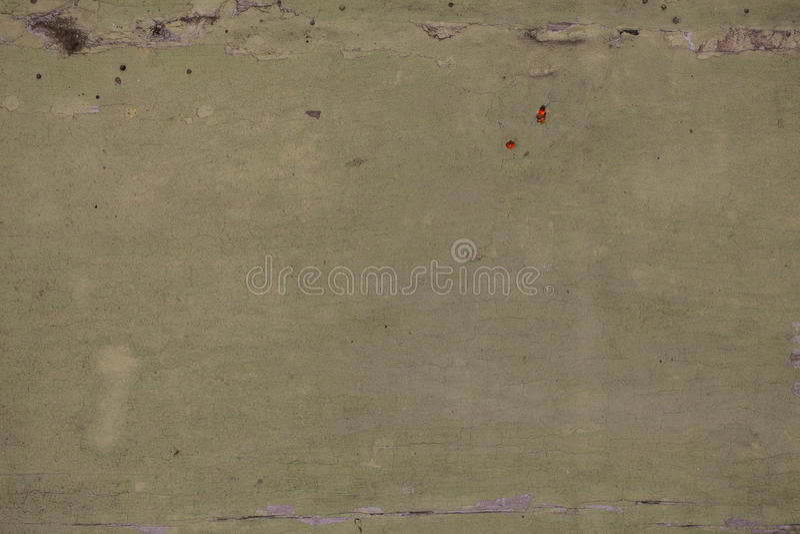 Oude afschilferende groene verf stock afbeelding