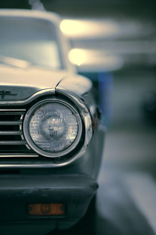 Oude Amerikaanse auto royalty-vrije stock afbeeldingen