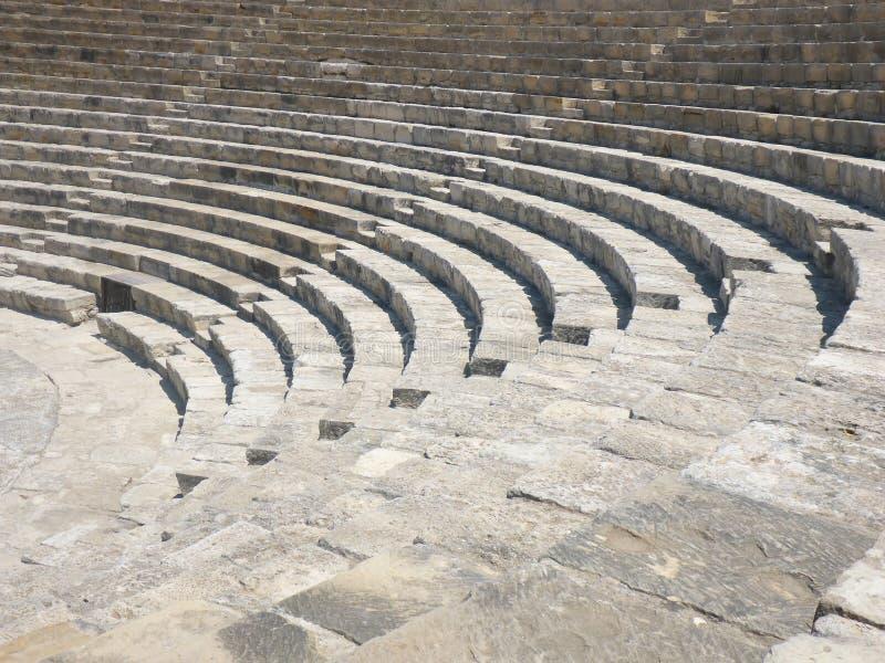 Oude amphitheatre royalty-vrije stock fotografie