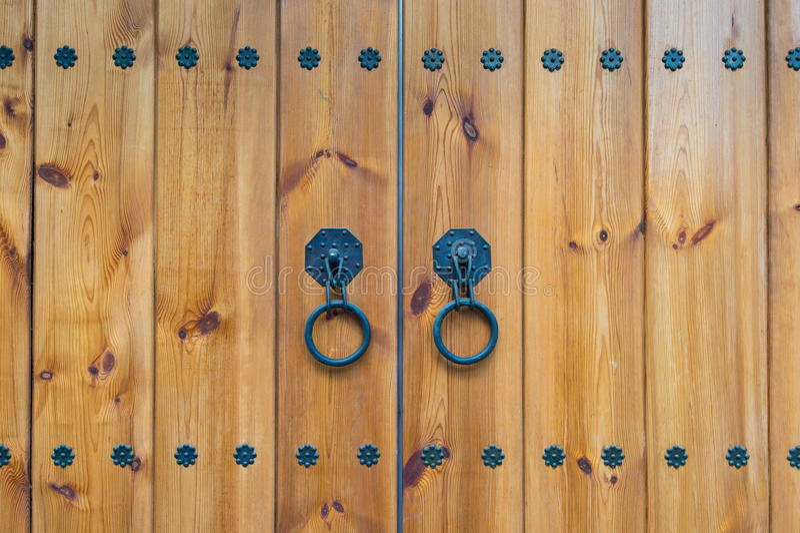 Oude antieke deur royalty-vrije stock foto's