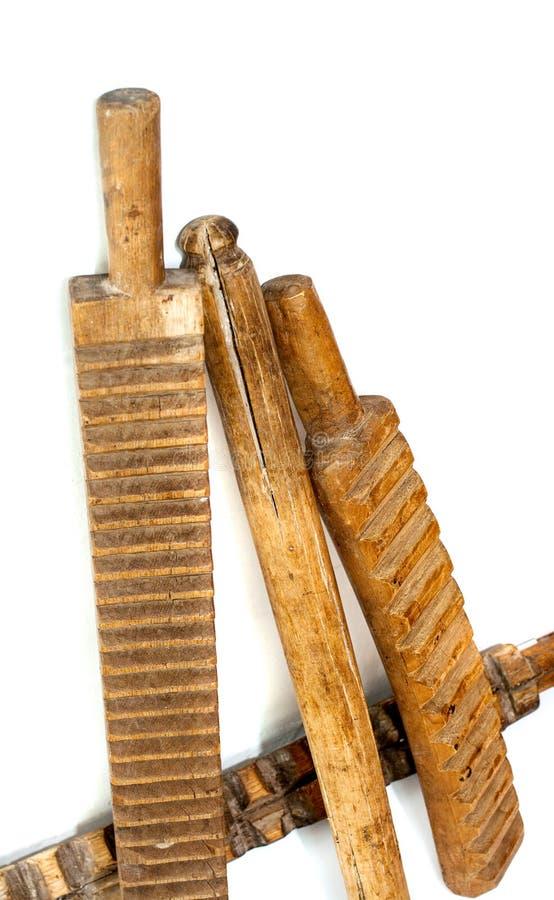 Oude antiquiteit roubels stock afbeeldingen